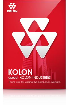 KOLON : about KOLON INDUSTRIES(thank you for visiting the KOLON Inc's website.)
